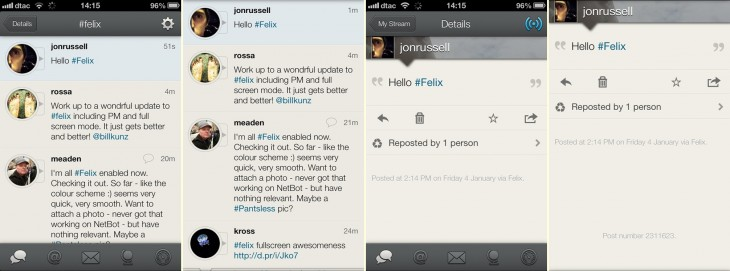 felix screen 730x271 Felix becomes first App.net mobile app to support private messaging, adds full screen mode too