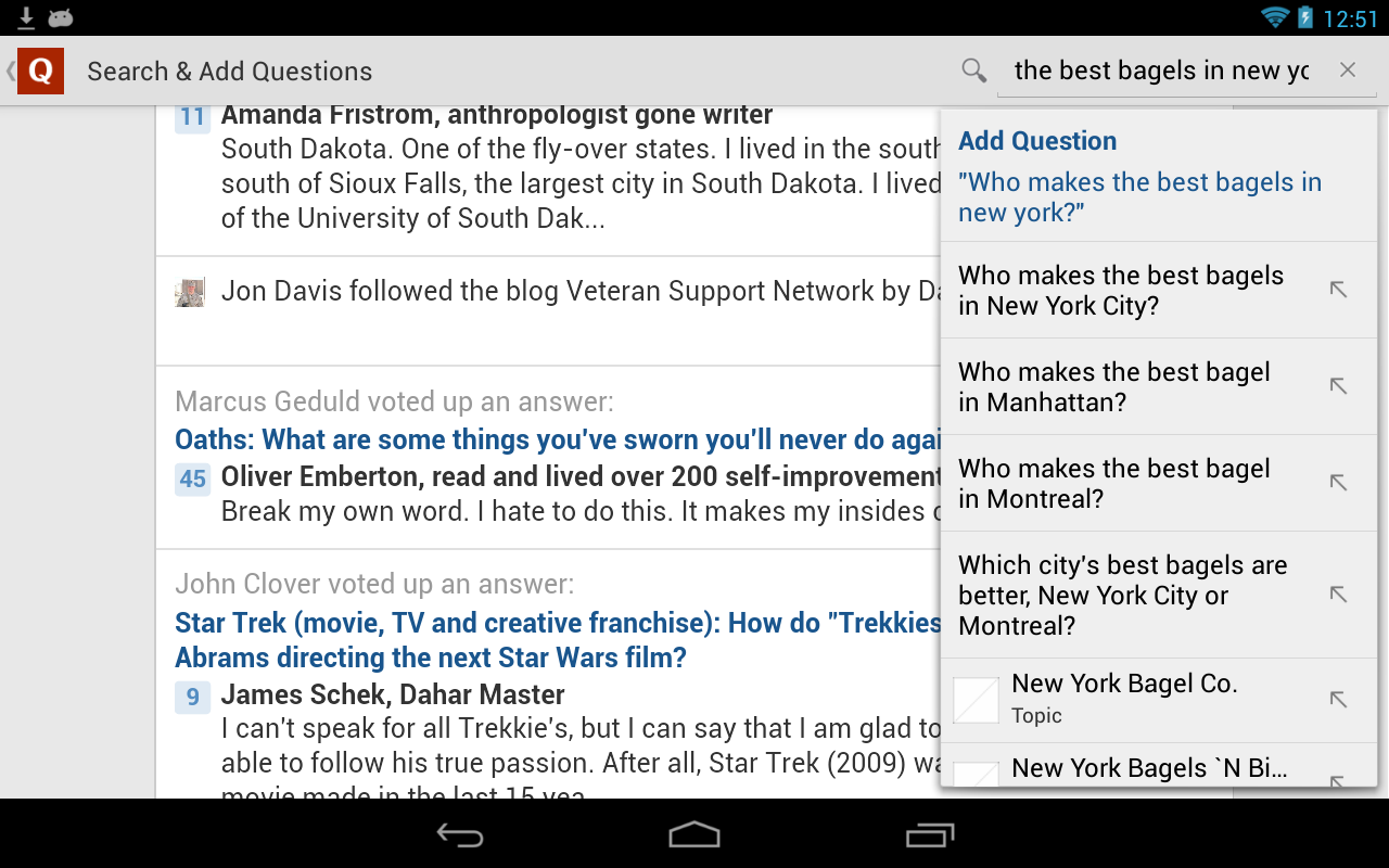 how to ask questions on quora