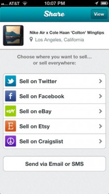 SellSimple unveils iOS app where users can sell on eBay, Etsy, Craigslist, others at the same time