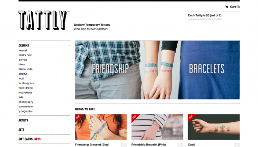 tattly 520x297 29 new inspiring responsive designs on the web