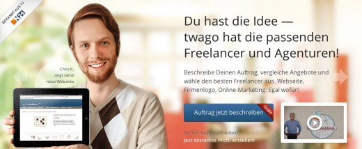 twago 520x214 A look inside Germanys startup industry: its startups, apps, entrepreneurs and VCs