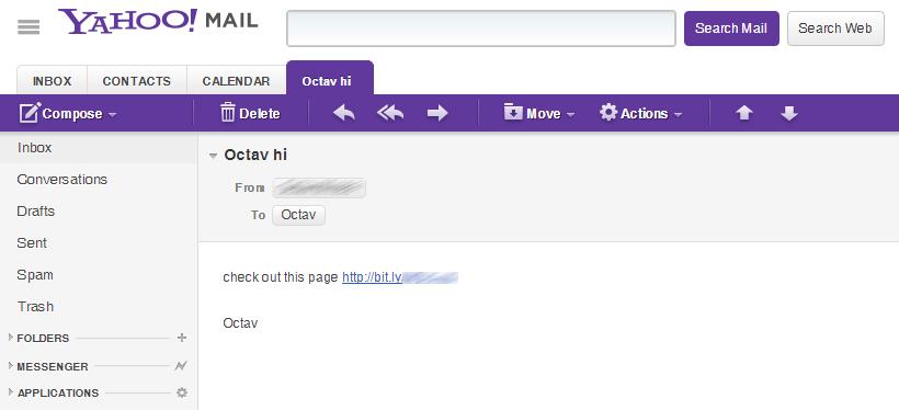 Yahoo Mail Users Still Being Hacked Via XSS Exploit