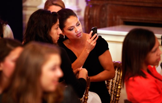 Michelle Obama Hosts Female Mentors And Students At The White House