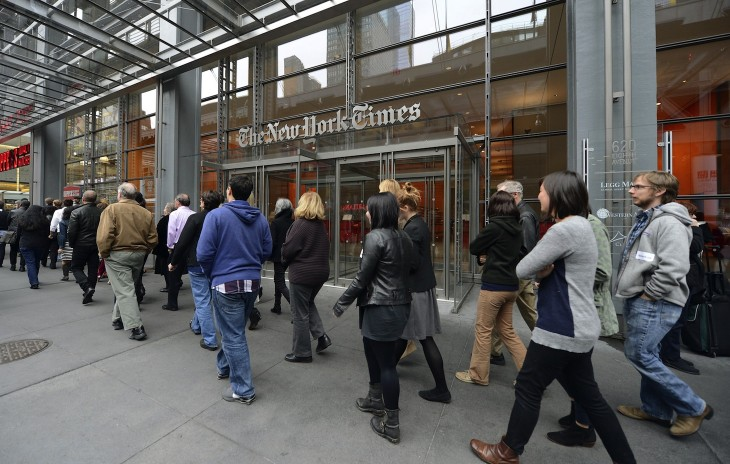 The New York Times now boasts 668,000 paying digital subscribers, Q4 revenue rises to $575.8m