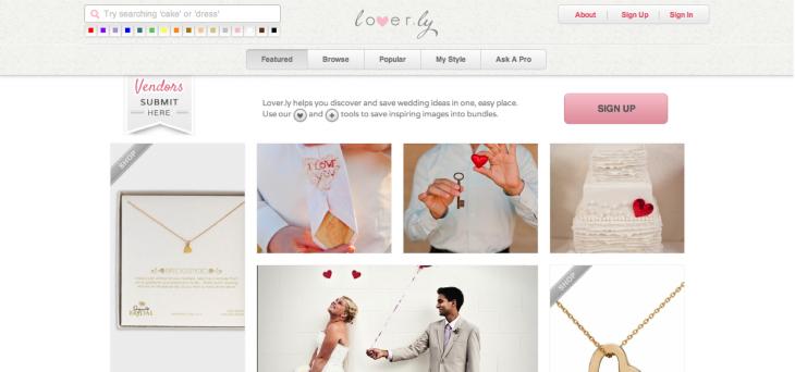 2012APRIL_Loverly v.2 Site