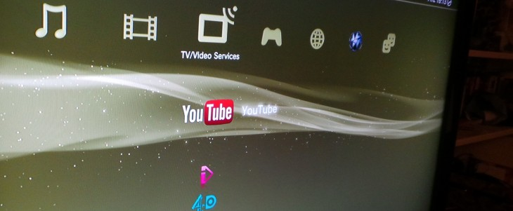 how to fix youtube app on ps3