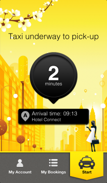 Active Order iPhone 5 220x376 TomTom launches an iPhone app for its taxi service, still only available in the Netherlands