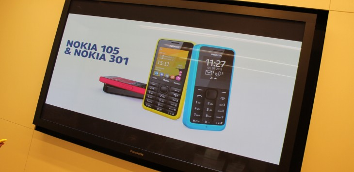 Nokia unveils new 105 and 301 featurephones, shipping soon for $20 and $85 respectively
