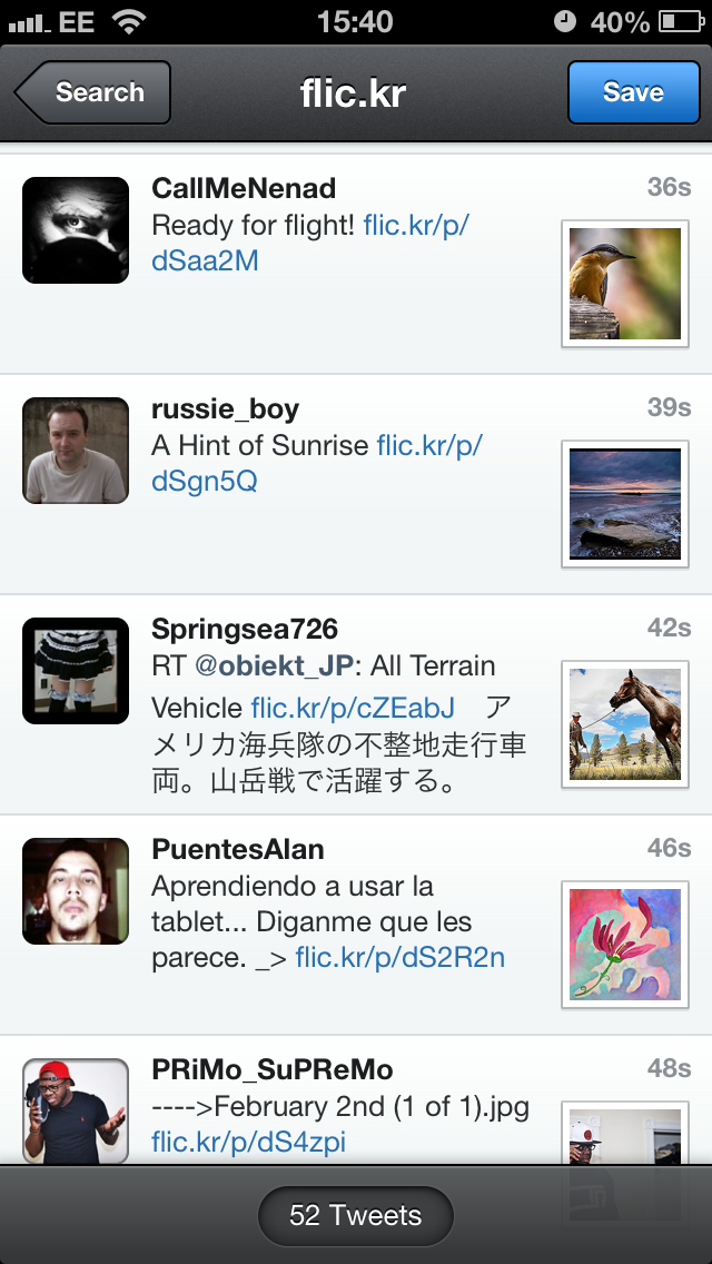 IMG 5212 Tweetbot for iOS updated with Chrome and 1Password link support, inline image previews for Flickr and Vine