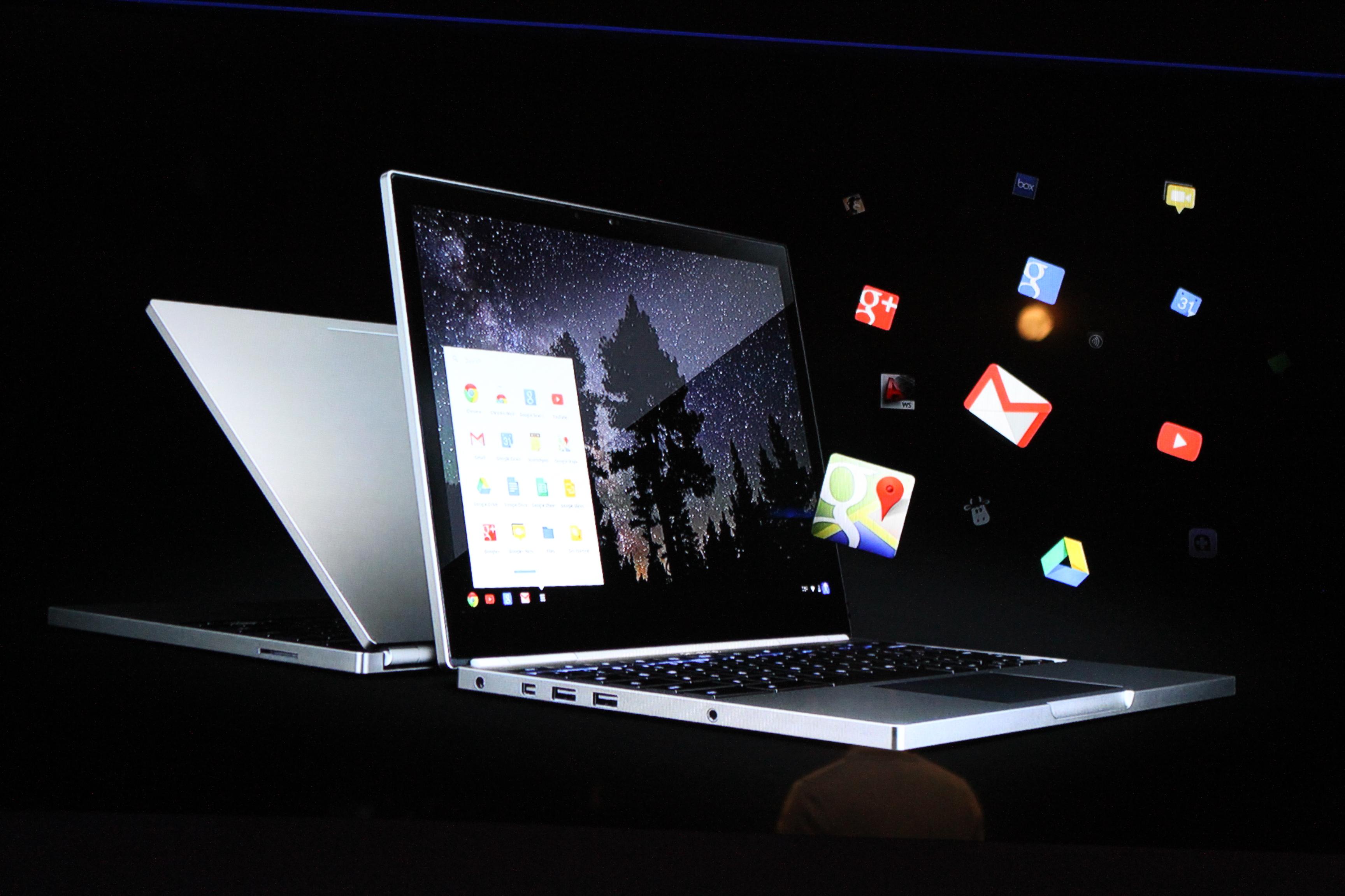 Google Unveils LTE Touchscreen Chromebook Pixel