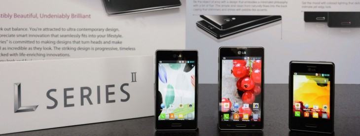 LG announces Optimus L Series II devices; L7II debuts in Russia this week, L3II and L5II 'coming ...