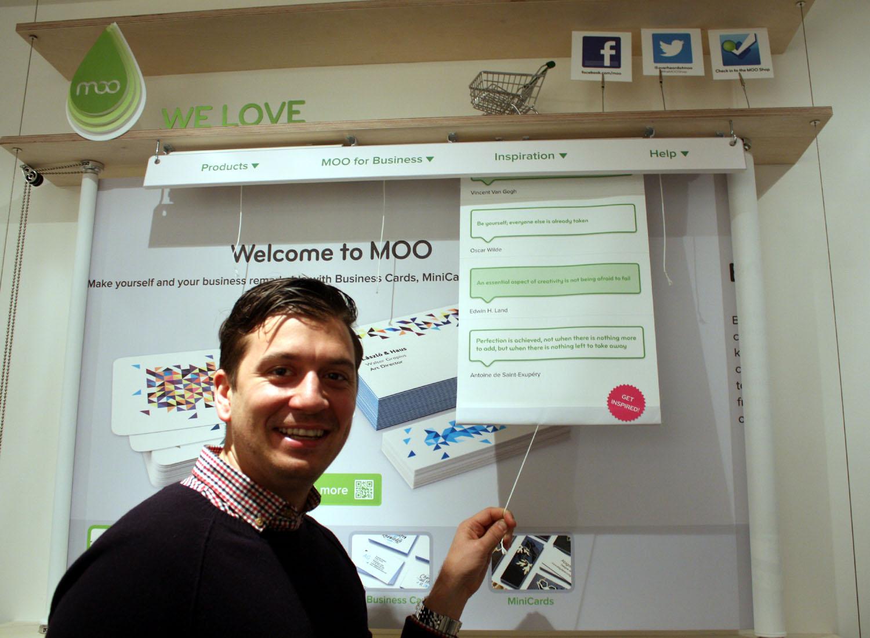 Paul Lewis Dir of Marketing Moo