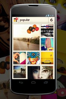 Pixplit Android Popular 220x330 With a new split every 10 seconds, Instagram for social photo collages Pixplit lands on Android
