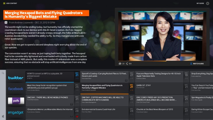 ProgramingGuide 730x410 Guide raises $1m to create a video news channel of websites read by avatars, now in private alpha