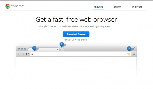 Weird  At the moment, no one can download and install Google Chrome