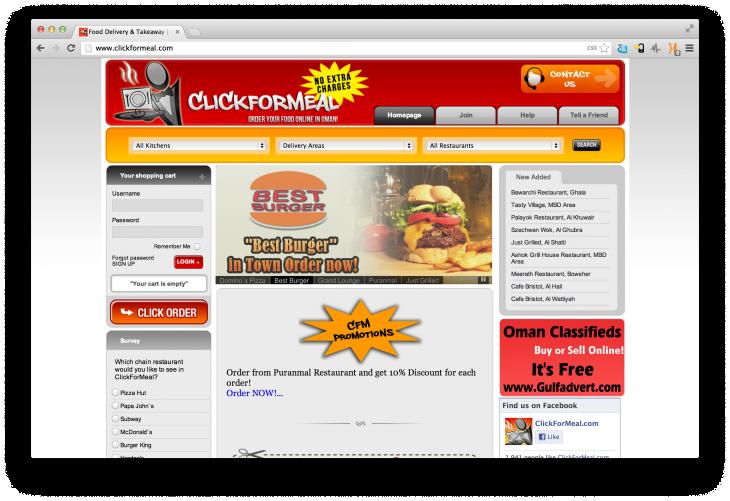 ClickforMeal