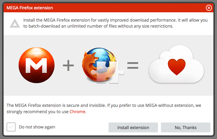 how to use mega app to download files