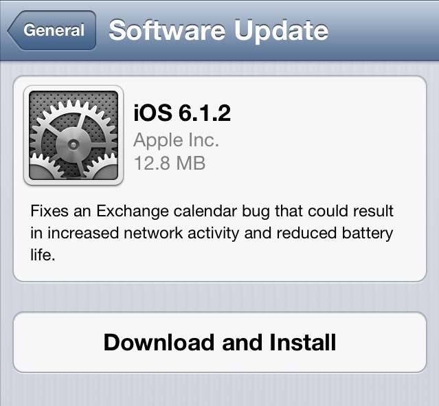 Screen Shot 2013 02 19 at 10.02.17 AM Apple releases iOS 6.1.2 to fix Microsoft Exchange calendar bug that ate batteries and data