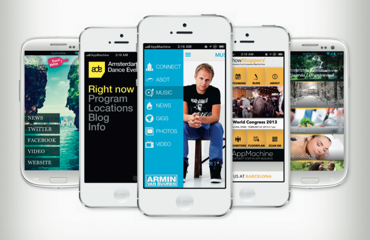 "Meet AppMachine, perhaps the most powerful ""create your own mobile app"" product we've ..."
