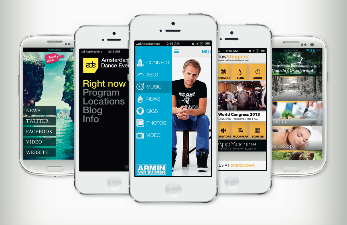 """Meet AppMachine, perhaps the most powerful """"create your own mobile app"""" product we've seen"""