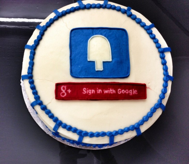 Screen Shot 2013 02 26 at 6.14.46 PM 730x634 Google sends cake to Fancy to commemorate launch of Google+ Sign In