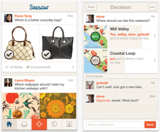 Snap 2013 02 07 at 09.25.10 520x428 CoTweet founders launch Seesaw for iPhone, an app that gets your friends opinion when you need it