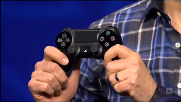 Sony's PlayStation 4 to use DualShock 4 controller with touchpad, sharing capability, and lightbar ...