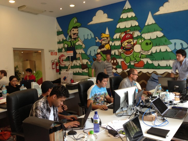 Startup Mansion Ballroom 730x547 Coolest offices: Inside 9 awesome tech workplaces in São Paulo