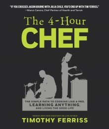 THE 4-HOUR CHEF by Timothy Ferriss cover image