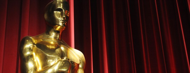 n Oscars statue is seen before the star