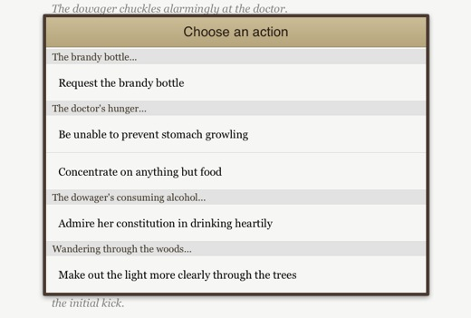 actions Second Life creator Linden Lab launches Versu, an AI powered iPad take on Choose Your Own Adventure
