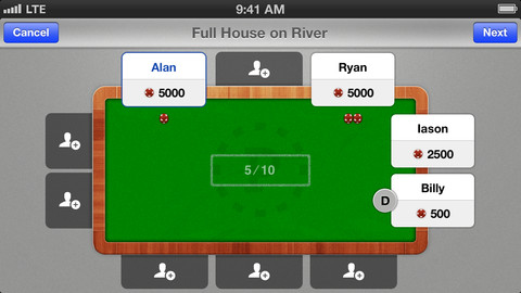 b1 Poker Postgame: A note taking app to help improve your poker game and learn from your mistakes