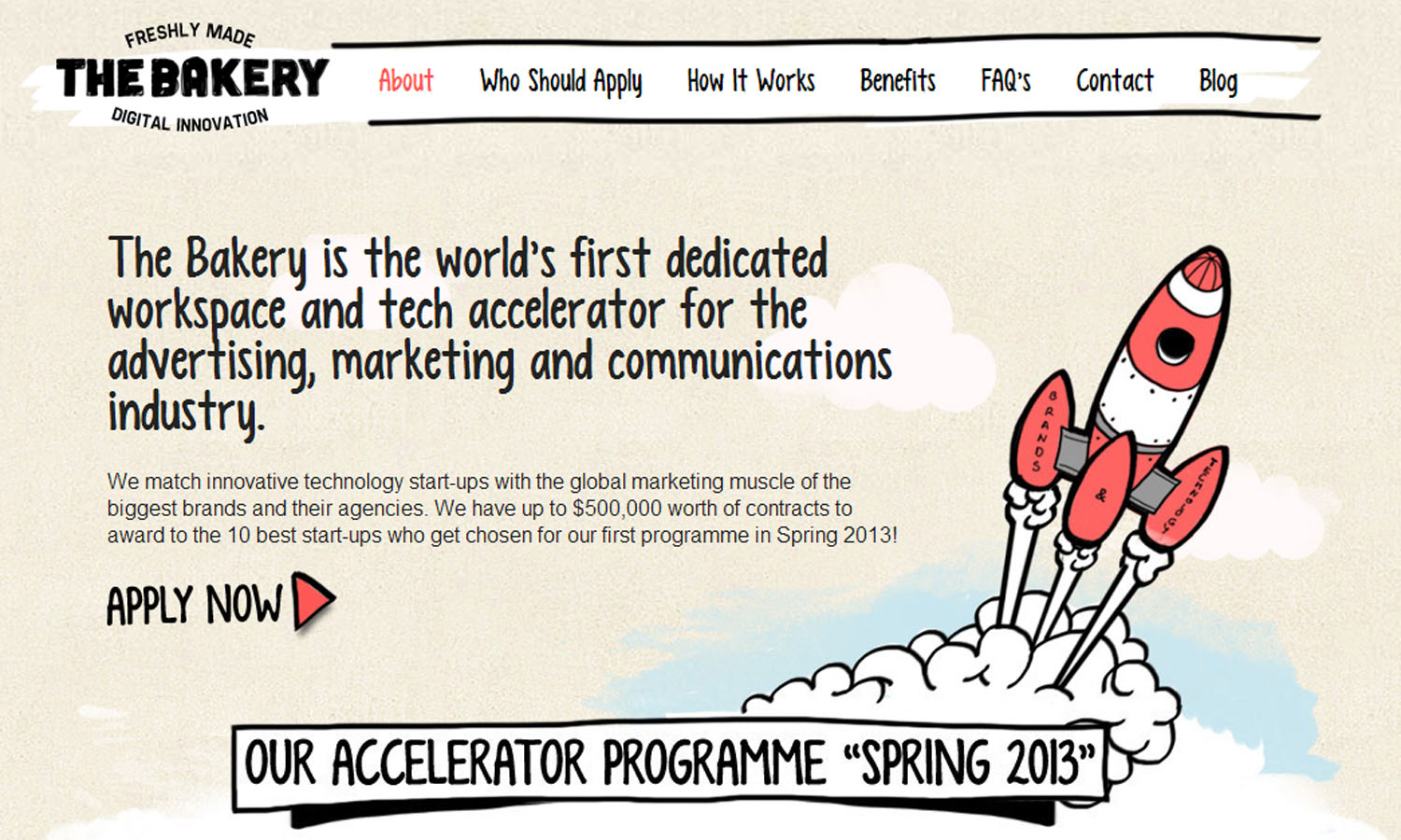 bakery screen The Bakery launches to cook up an ad tech focus to startup acceleration in London