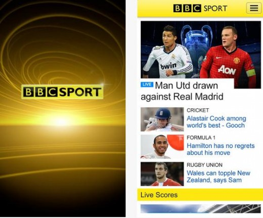 BBC Sports iOS App is Now Available Globally