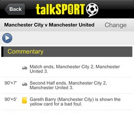 c3 TalkSport Live lands on iOS and Android for English Premier League radio commentary outside Europe