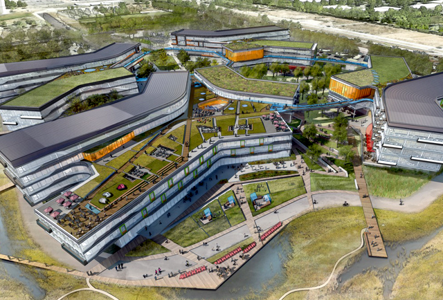 Google reveals plans for 1.1M square foot 'Bay View' campus near San Francisco Bay [Updated] ...