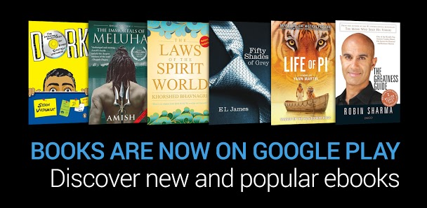 Google Play Books Launches in India