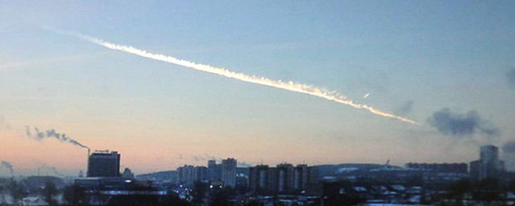 Watch: Incredible dashboard footage of the Russian meteor strike