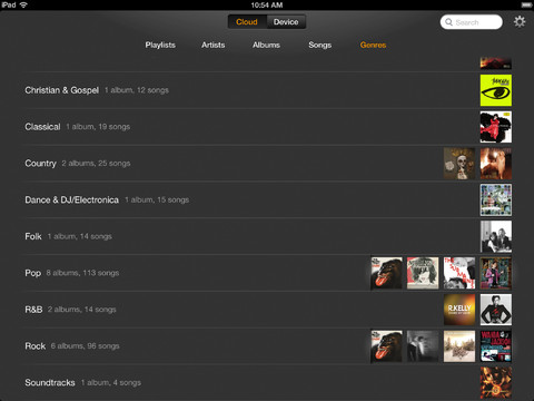 Amazon Rolls Out iPad-Optimized Version of its iOS Cloud Player App