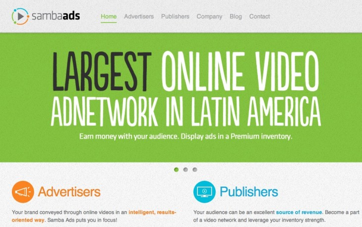 samba ads home