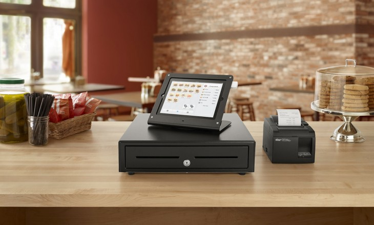 "Square now offers stores a ""Business in a Box"" hardware package for Square Register, starting ..."