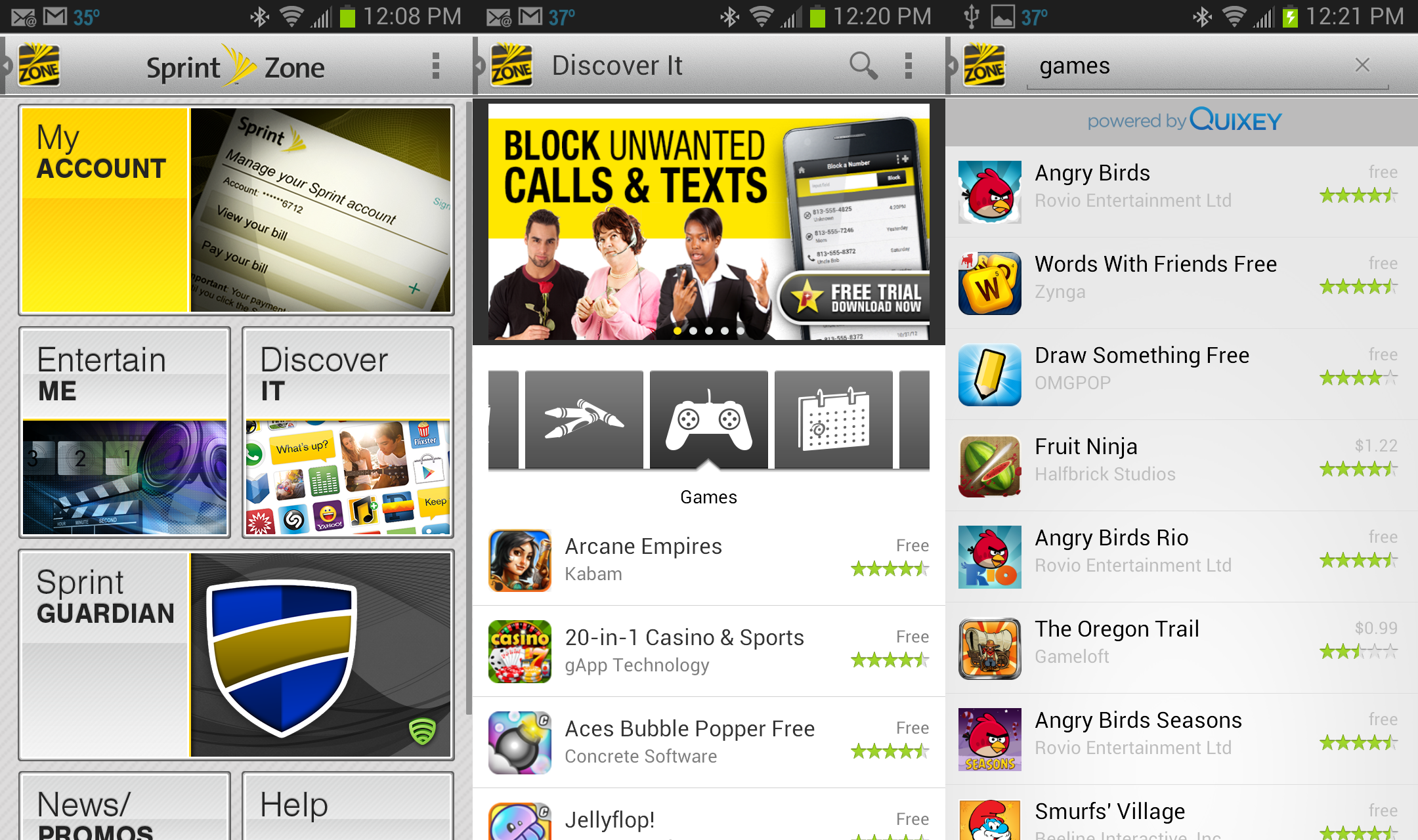 Quixey Brings Its App Search to Android Smartphones on Sprint