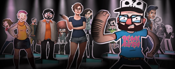 Penny Arcade launches Strip Search reality show with its Kickstarter 'ad-free' bounty