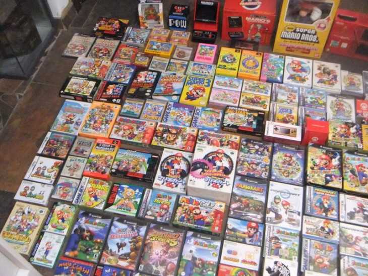 vg3 730x547 An amazing video game collection spanning 30 years is being sold for $550,000 on eBay