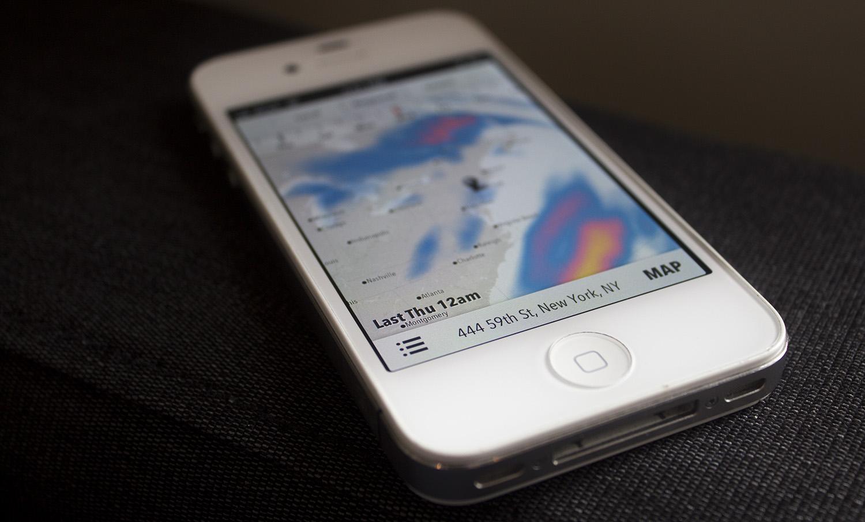 Forecast: A New, Gorgeous Weather Service & API by Dark Sky