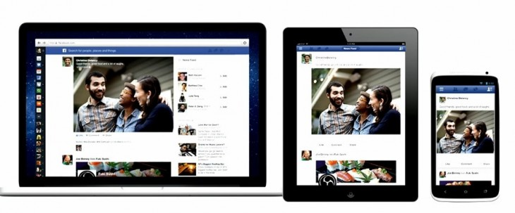 Facebook's new News Feed starts rolling out on the Web today, iOS in a few weeks and Android thereafter ...