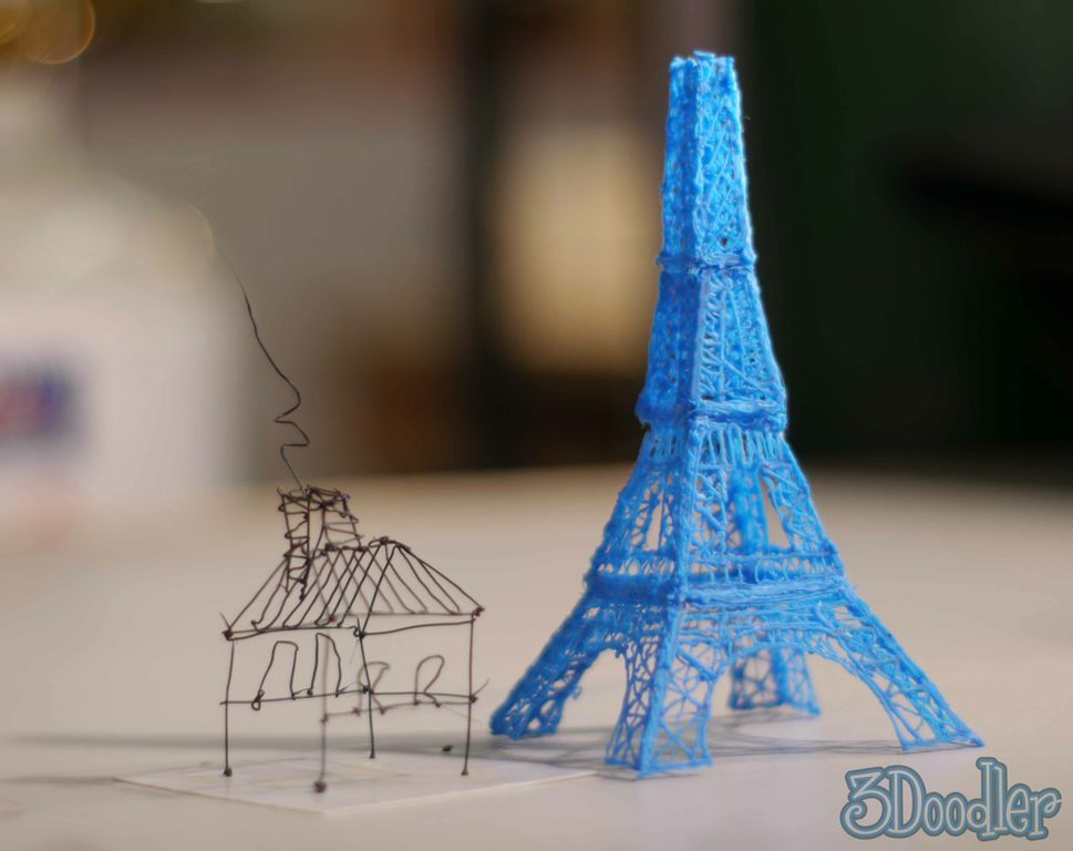 WobbleWorks has raised $2m for its 3D printing pen 3Doodler on Kickstarter, with 19 days to go
