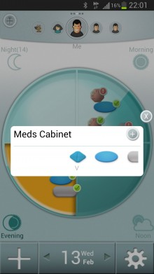 Android cabinet.HIGH  220x391 MediSafe Project updates its mobile medication reminder app, letting users email stats to doctors and more