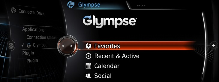 BMW Apps Glympse