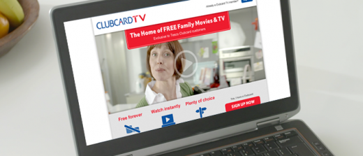 ClubcardTV 520x223 Tesco launches Clubcard TV, a Blinkbox powered video streaming service supported by advertisers